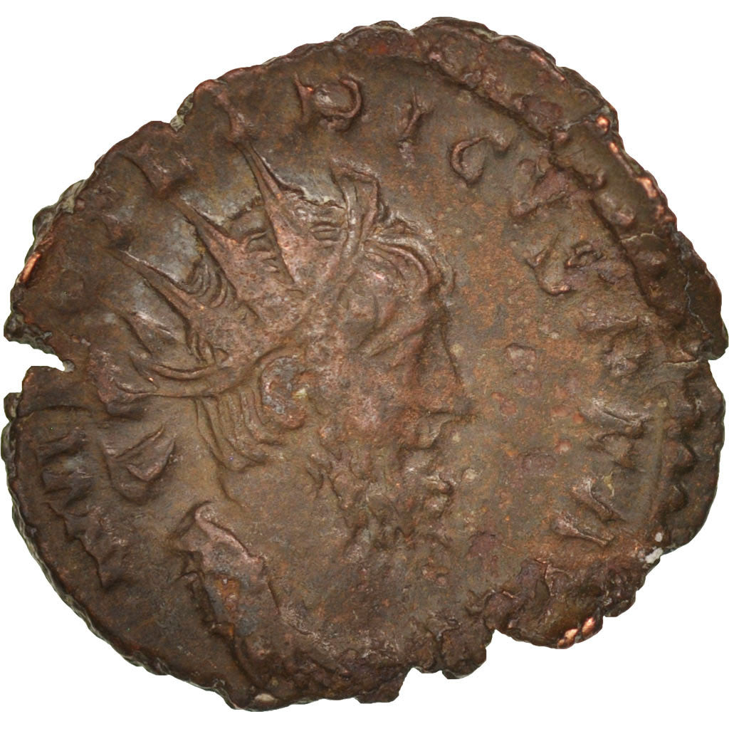 Tetricus I, Antoninianus, 272, Cologne, VF(30-35), Billon, RIC:141
