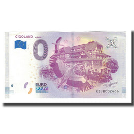 France, Tourist Banknote - 0 Euro, 67/ Kintzheim - Cigoland Parc d'attractions
