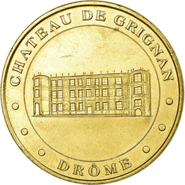 France, Token, Touristic token, Grignan - Le château n°1, 1998, MDP