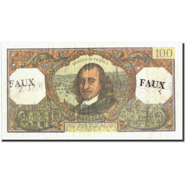 Banknote, France, 100 Francs, 100 F 1964-1979 ''Corneille'', 1972, 1972-01-06