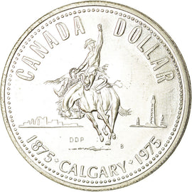Coin, Canada, Elizabeth II, Dollar, 1975, Royal Canadian Mint, Ottawa