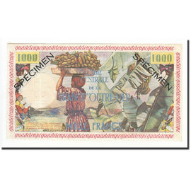 Banknote, Guadeloupe, 1000 Francs, 1960, UNC(63), KM:39s