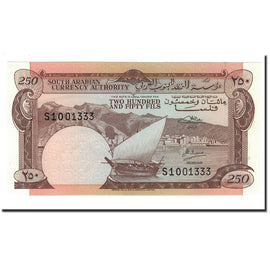 Banknote, Yemen Democratic Republic, 250 Fils, 1965, Undated, KM:1b, UNC(65-70)