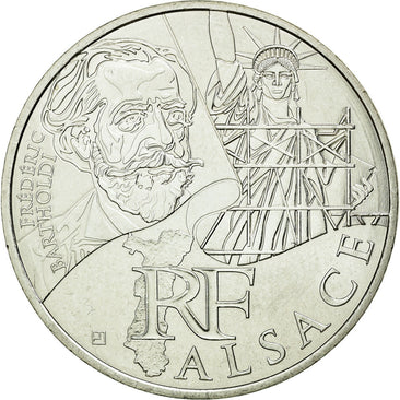 Coin, France, 10 Euro, 2012, MS(60-62), Silver, KM:1870