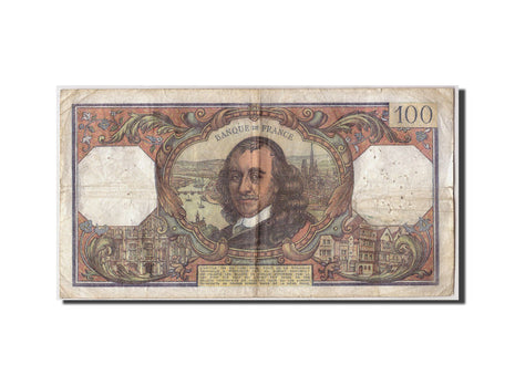 France, 100 Francs, 100 F 1964-1979 ''Corneille'', 1977, KM #149f, 1977-02-04,..