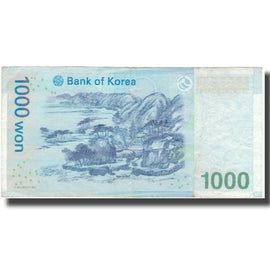 Banknote, South Korea, 1000 Won, KM:54a, EF(40-45)