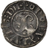 Coin, France, Denarius, Dijon, EF(40-45), Billon