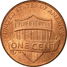 Coin, United States, Cent, 2014, Philadelphia, EF(40-45), Copper Plated Zinc