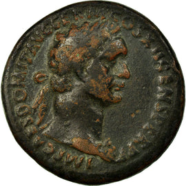 Coin, Domitia, As, Roma, EF(40-45), Copper, Cohen:122