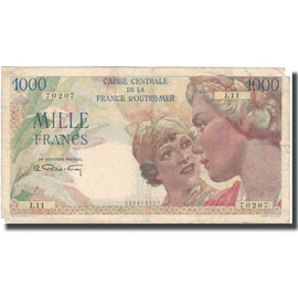 Banknote, French Equatorial Africa, 1000 Francs, 1926, 1926-02-17, KM:26