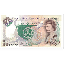 Isle of Man, 10 Pounds, 1998, KM:44a, UNC(65-70)