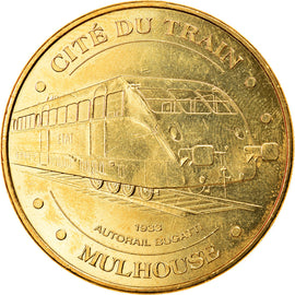 France, Token, Touristic token, Mulhouse - Cité du Train n°3, 2013, MDP