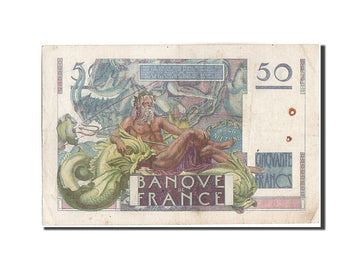 Banknote, France, 50 Francs, 50 F 1946-1951 ''Le Verrier'', 1946, 1946-03-28