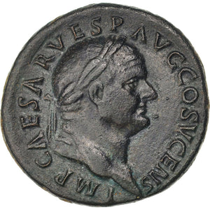 Vespasian, As, Roma, AU(50-53), Bronze, RIC #720, 10.35
