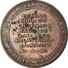 United Kingdom , Token, Great-Britain, Wellington's victory at Salamanca, 1812