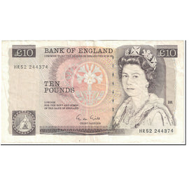 Banknote, Great Britain, 10 Pounds, 1988-1991, Undated (1988-1991), KM:379e
