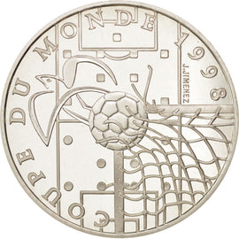 Coin, France, 10 Francs, 1996, MS(65-70), Silver, KM:1144