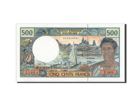 Banknote, French Pacific Territories, 500 Francs, 2000, KM:1b, UNC(65-70)
