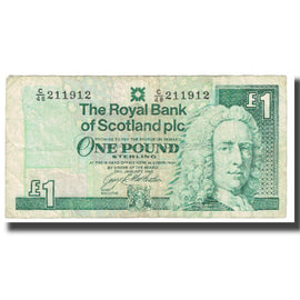 Banknote, Great Britain, 1 Pound, 1996, 1996-01-24, KM:351, VF(20-25)