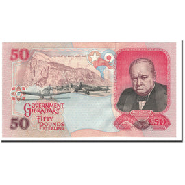 Banknote, Gibraltar, 50 Pounds, 1995, 1995-07-01, KM:28a, UNC(65-70)