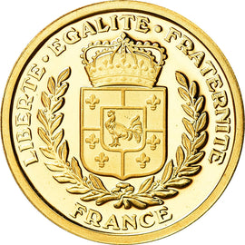 France, Medal, French Fifth Republic, Politics, Society, War, MS(65-70), Gold
