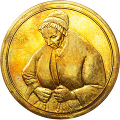 FRANCE, Arts & Culture, French Fifth Republic, Medal, AU(50-53), Vermeil, 32.50