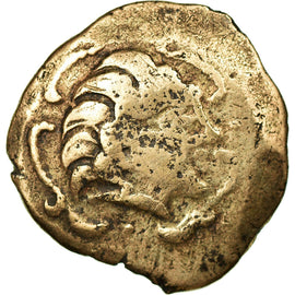 Coin, Pictones, Area of Poitiers, Stater, VF(30-35), Electrum, Delestrée:3659