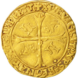 Coin, France, Ecu d'or, Lyons, VF(30-35), Gold, Duplessy:655