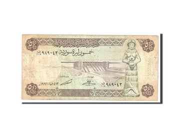 Syria , 50 Pounds, 1991, Undated, KM:103e, VF(20-25)