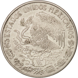 MEXICO, Peso, 1971, Mexico City, KM #460, AU(55-58), Copper-Nickel, 29