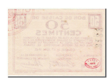 Banknote, 50 Centimes, 1940, France, UNC(65-70)