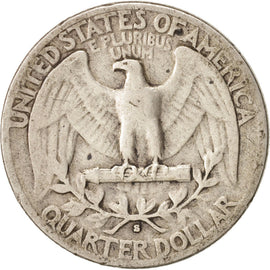 Coin, United States, Washington Quarter, Quarter, 1936, U.S. Mint, San