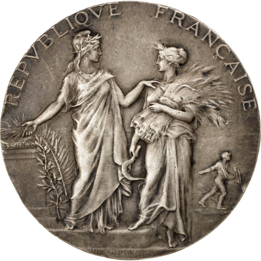 France, Medal, French Third Republic, Business & industry, 1910, Dubois.A
