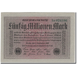 Banknote, Germany, 50 Millionen Mark, 1924-01-01, KM:109a, UNC(60-62)