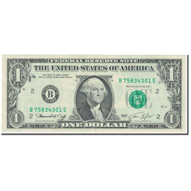 Banknote, United States, One Dollar, 1974, Undated (1974), KM:1574, AU(55-58)