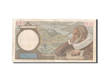 Banknote, France, 100 Francs, 100 F 1939-1942 ''Sully'', 1939, 1939-12-07