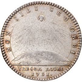 France, Token, Royal, Louis XV, Trésor Royal, History, 1751, Duvivier