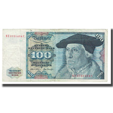 Banknote, GERMANY - FEDERAL REPUBLIC, 100 Deutsche Mark, 1970, 1970-01-02