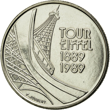 Coin, France, 5 Francs, 1989, MS(60-62), Nickel, Gadoury:772