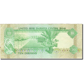 Banknote, United Arab Emirates, 10 Dirhams, 1982-1983, Undated (1982), KM:8a
