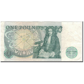 Banknote, Great Britain, 1 Pound, KM:377b, AU(50-53)