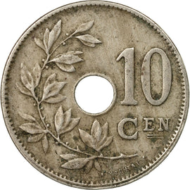 Coin, Belgium, 10 Centimes, 1920, Paris, EF(40-45), Copper-nickel, KM:86