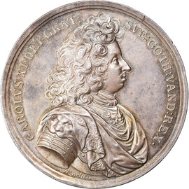 Sweden, Medal, Charles XI, Peace Treaty of Lund, 1680, Pedigree, MS(60-62)
