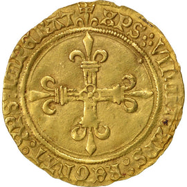 Coin, France, Ecu d'or, Montpellier, AU(50-53), Gold, Duplessy:647