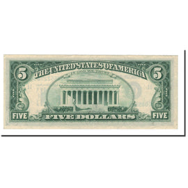 Banknote, United States, Five Dollars, 1977, KM:1946, UNC(60-62)