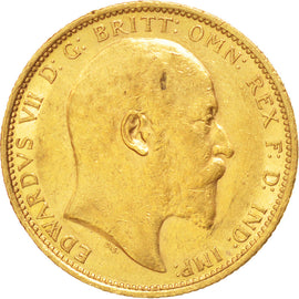 AUSTRALIA, Sovereign, 1903, Sydney, KM #15, AU(50-53), Gold, 21, 7.99