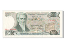 Banknote, Greece, 500 Drachmaes, 1983, AU(55-58)
