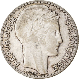 Coin, France, Turin, 10 Francs, 1932, Paris, EF(40-45), Silver, KM:878