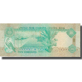Banknote, United Arab Emirates, 10 Dirhams, 2001, 2001, KM:20a, EF(40-45)