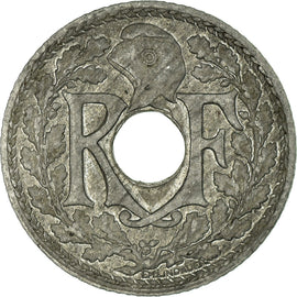 Coin, France, 10 Centimes, 1941, Paris, EF(40-45), Zinc, KM:897